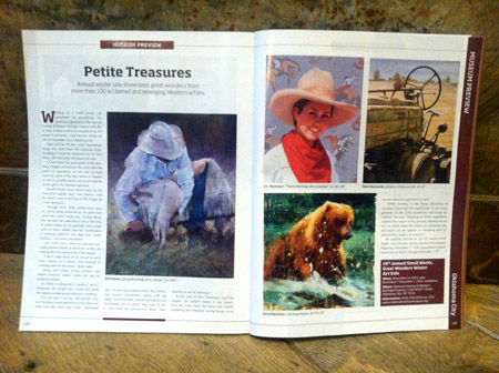 Western Art Collector article