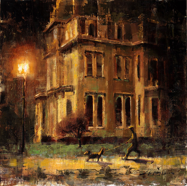 Once Around The Block - Painting by Jerry Markham