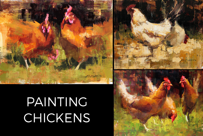 Painting Chickens Instructional Video