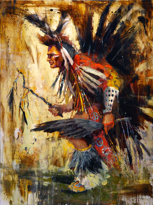 Spirited Expression - painting by Jerry Markham
