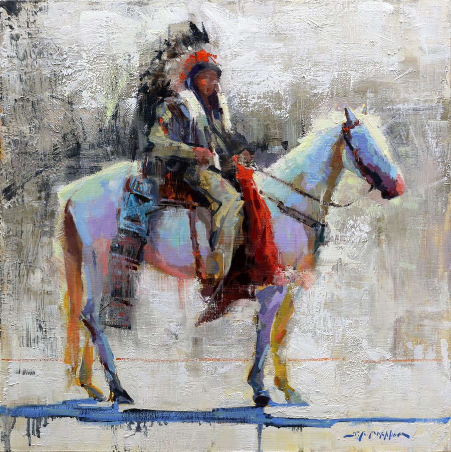 Ceremonial Ride - painting by Jerry Markham