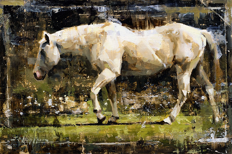 Exquisite Equine - Horse painting by Jerry Markham artist