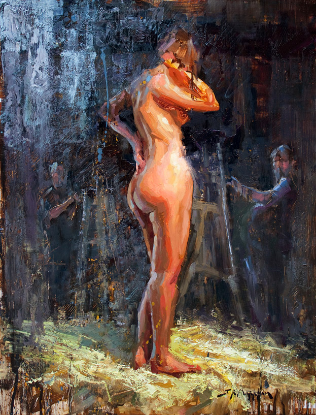 Figure Painting - by Jerry Markham