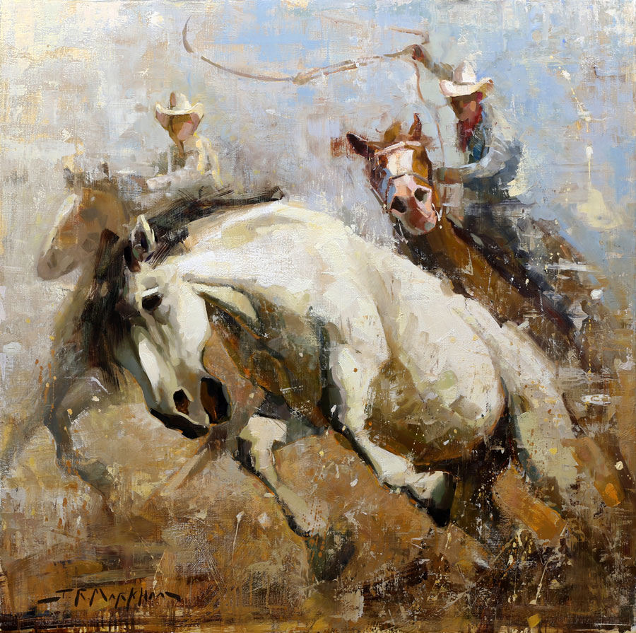 The Wild One - painting by Jerry Markham