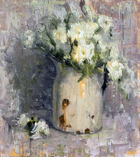 Floral Painting by Jerry Markham