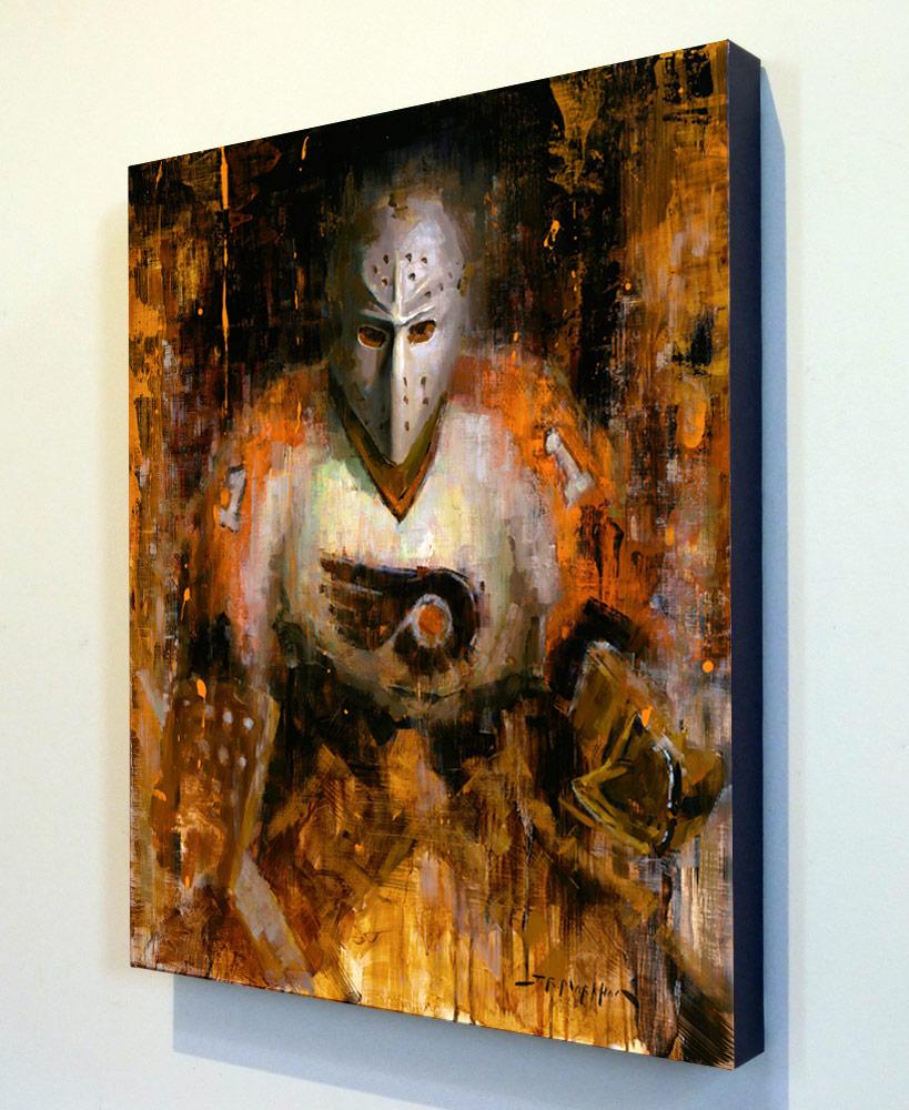 "2.5"" deep canvas wrap with black edge"