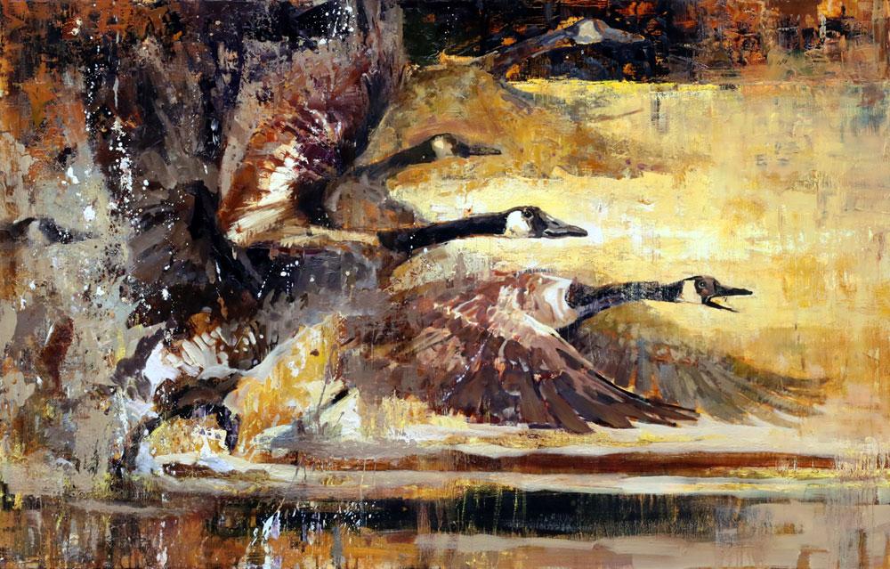 Flight on Golden Pond