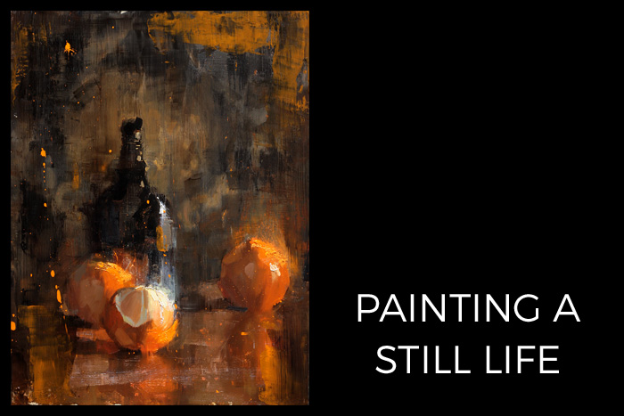 Still Life Painting Video
